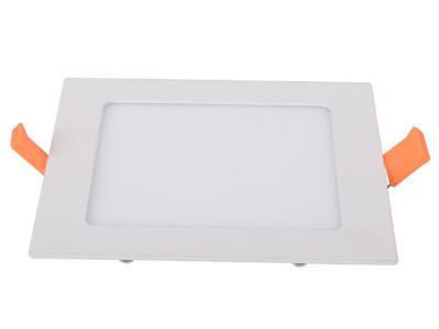 LED Recessed Light, Square Panel Fixture