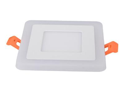LED Recessed Downlight, Square Panel Fixture